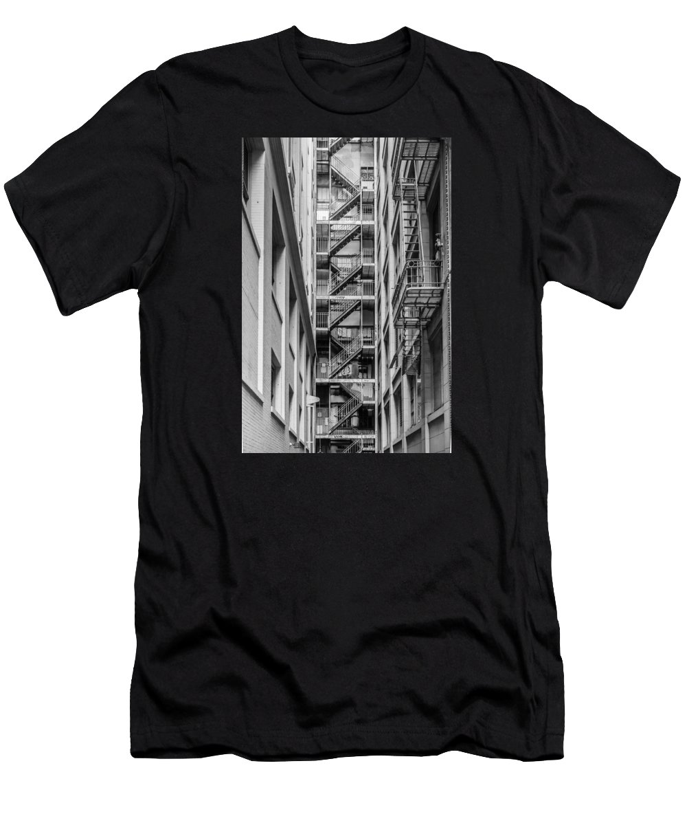 San Fransisco Men's T-Shirt (Athletic Fit) featuring the photograph Escape by Prashant Thumma