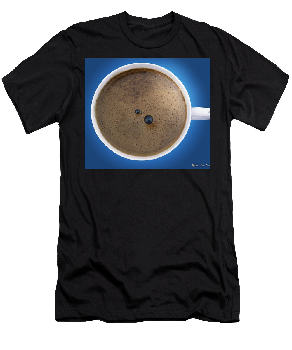 Espresso Men's T-Shirt (Athletic Fit) featuring the photograph Espresso by Yuri Lev