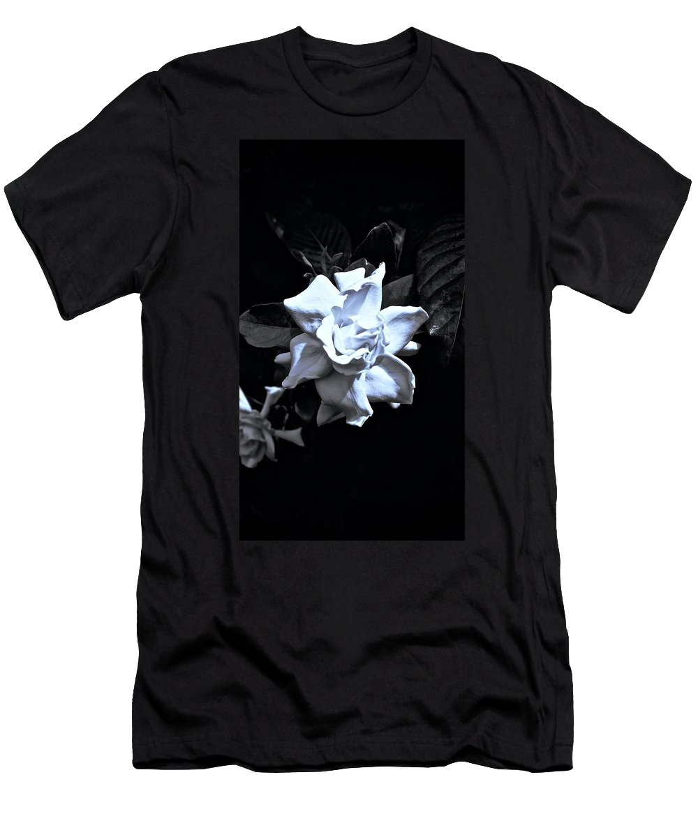 Monochrome Men's T-Shirt (Athletic Fit) featuring the photograph Essence Of by Tim G Ross