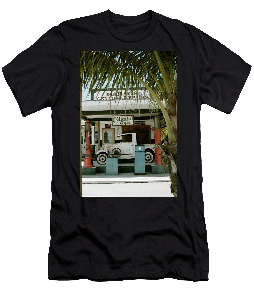 Everglade City Men's T-Shirt (Athletic Fit) featuring the photograph Everglade City II by Flavia Westerwelle