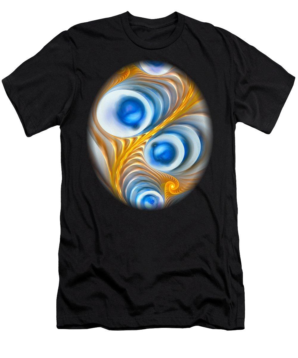 Exaggeration Men's T-Shirt (Athletic Fit) featuring the digital art Exaggeration by Anastasiya Malakhova