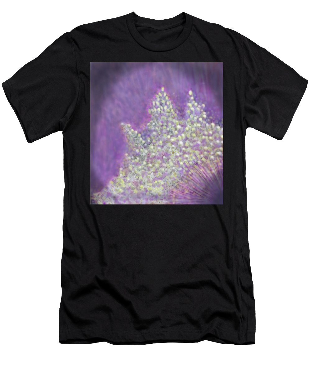 Abstract Men's T-Shirt (Athletic Fit) featuring the digital art Expodential Growth by Ian MacDonald