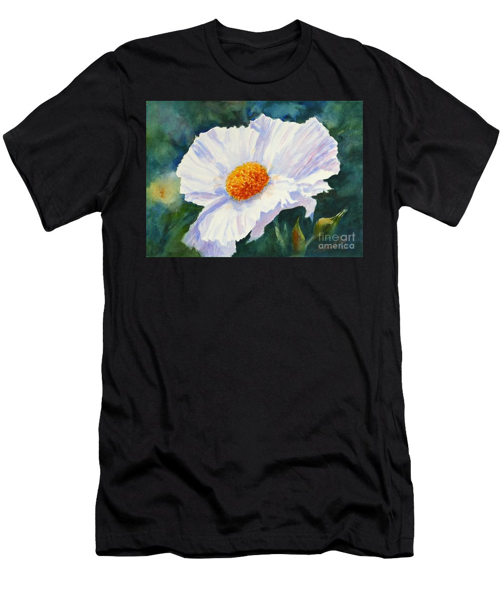 Painting Men's T-Shirt (Athletic Fit) featuring the painting Exquisite by Mohamed Hirji
