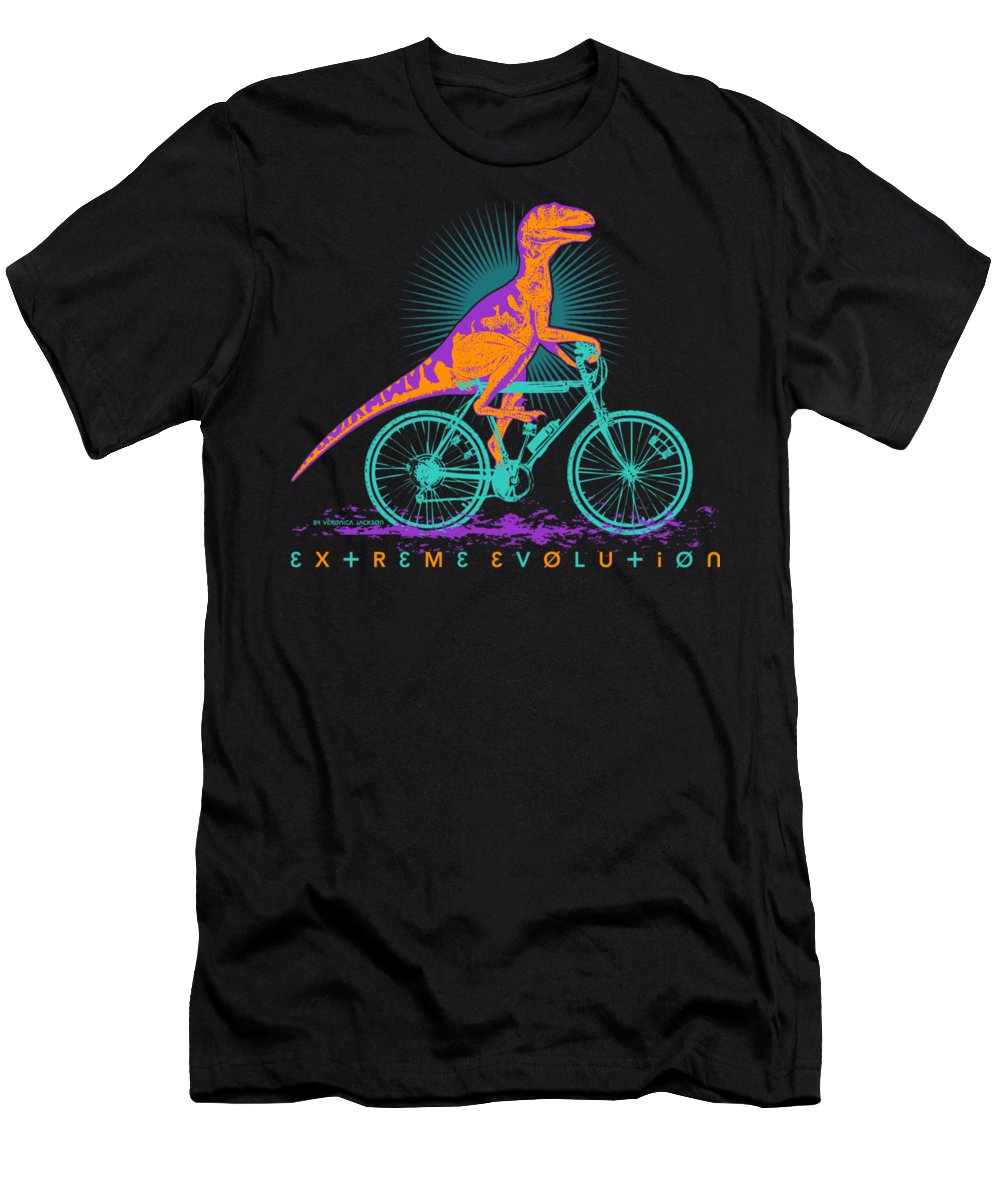 Bike T-Shirt featuring the digital art Extreme evolution by Veronica Jackson