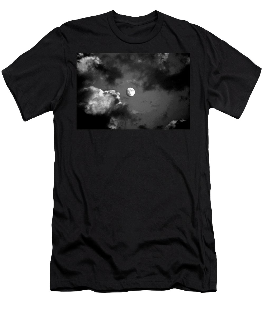 Sky Men's T-Shirt (Athletic Fit) featuring the photograph Eye In The Sky by Steve Karol