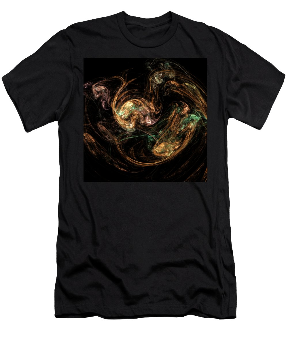 Fractal T-Shirt featuring the digital art f25 by Thomas Pendock
