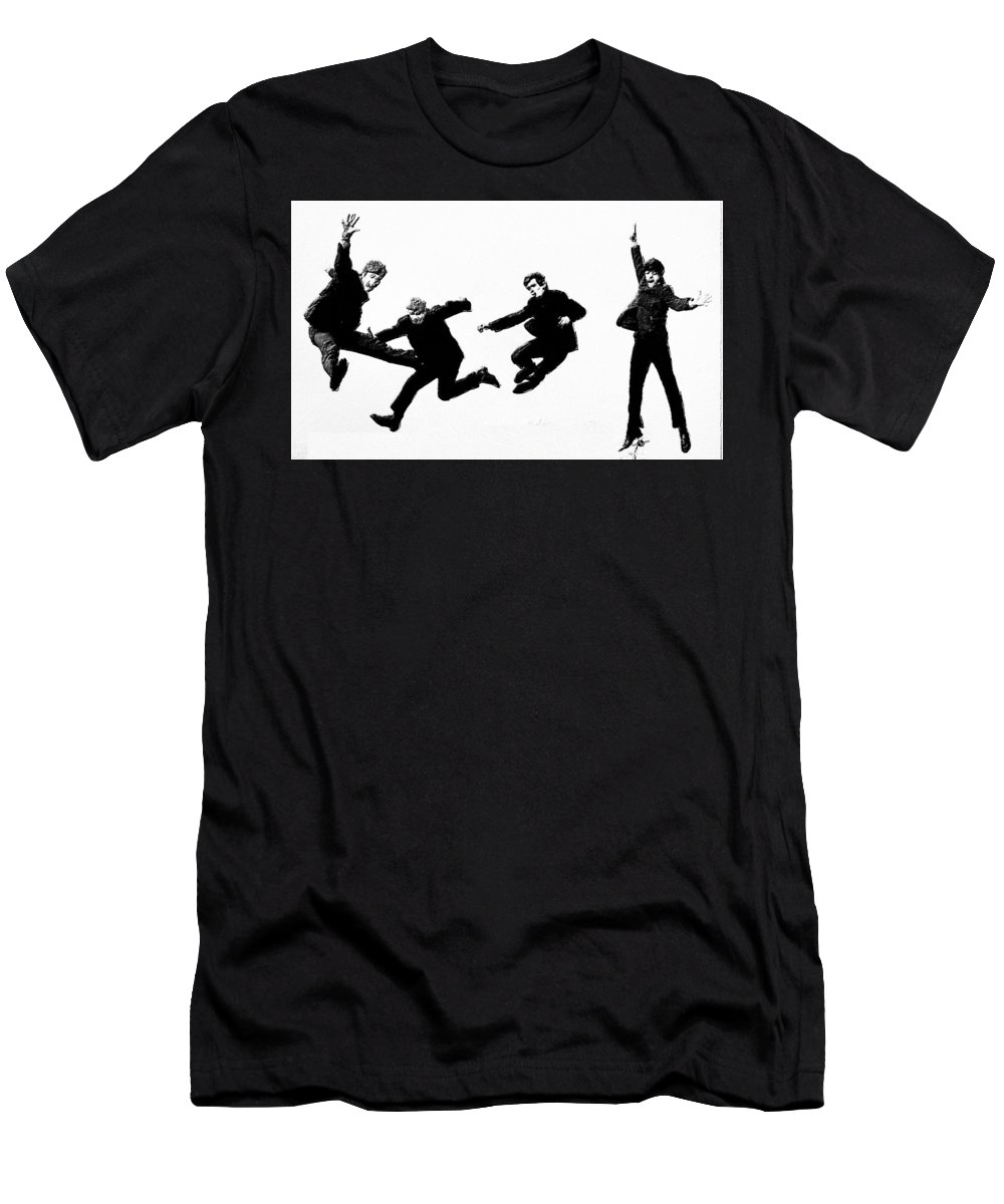 The Beatles T-Shirt featuring the painting Fab by Tony Rubino