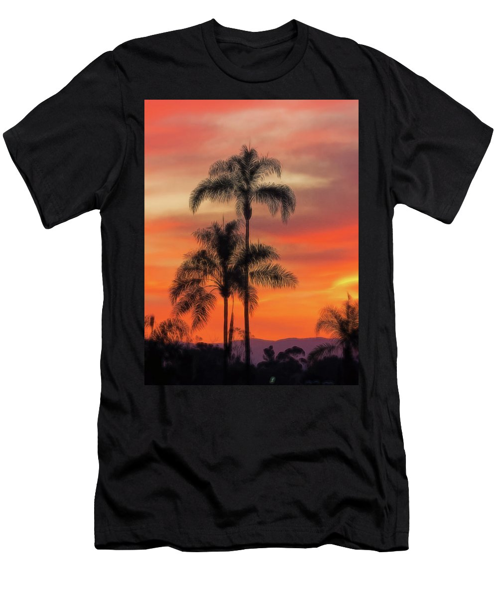 California Men's T-Shirt (Athletic Fit) featuring the photograph Facing East 2 by Claude LeTien
