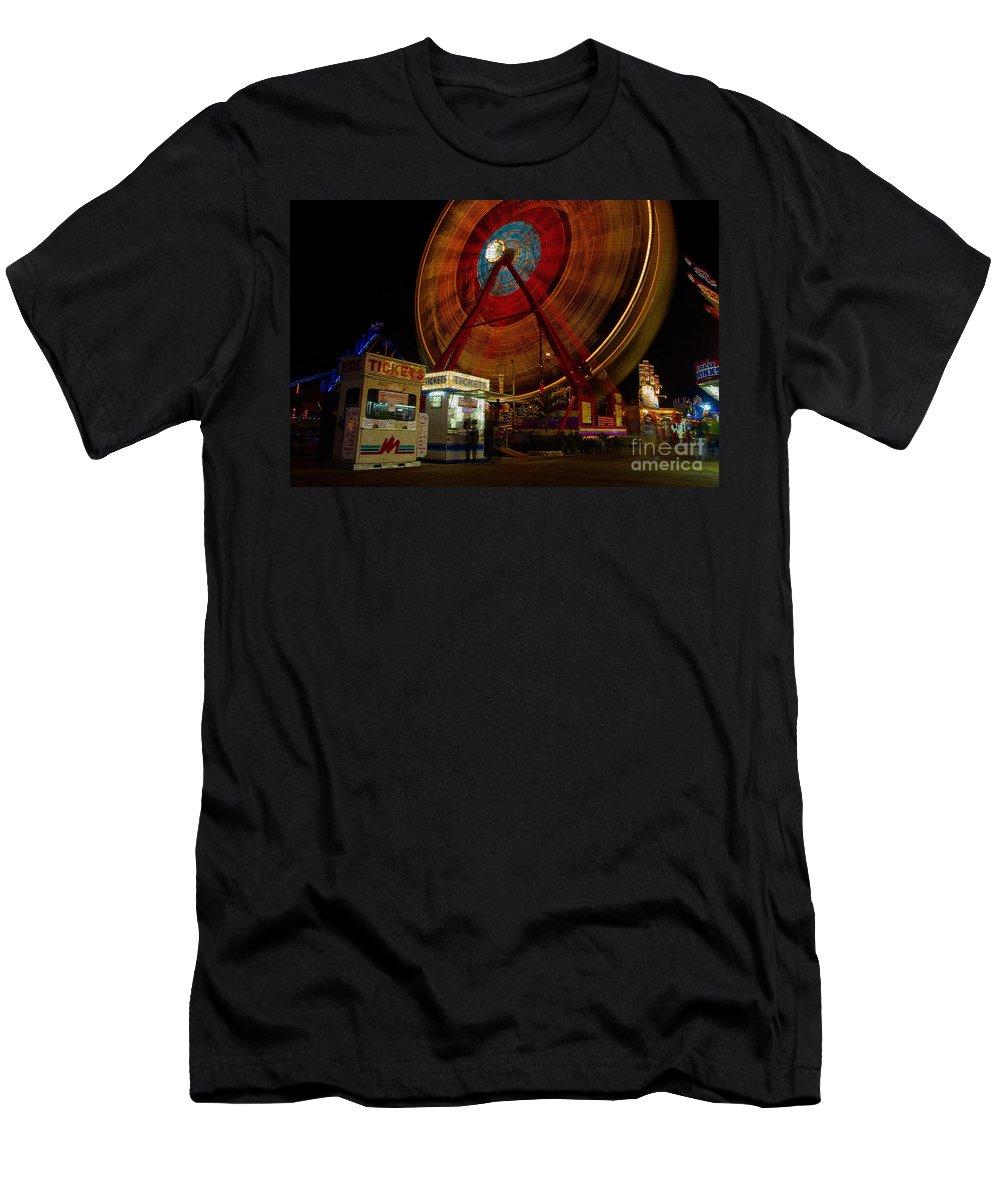 Fair Men's T-Shirt (Athletic Fit) featuring the photograph Fair Dreams by David Lee Thompson