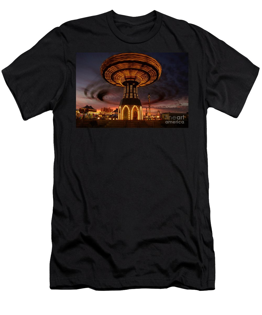 Fair Men's T-Shirt (Athletic Fit) featuring the photograph Fair Fun by David Lee Thompson