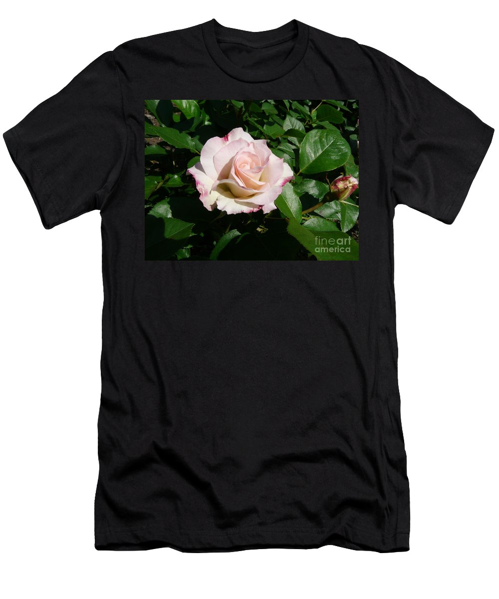 Rose Men's T-Shirt (Athletic Fit) featuring the photograph Fait Accompli by Kendall Eutemey