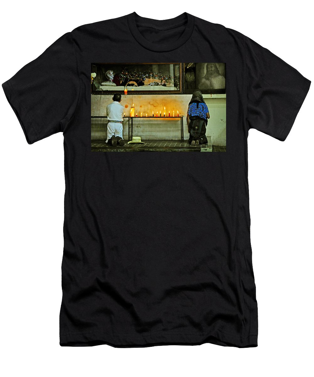 Skip Hunt Men's T-Shirt (Athletic Fit) featuring the photograph Faith by Skip Hunt