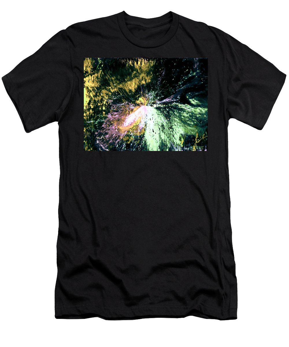 Digital Art Men's T-Shirt (Athletic Fit) featuring the digital art Fanfare by Kendall Eutemey