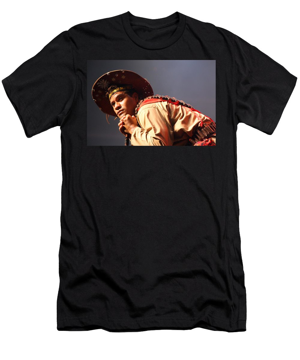Festival Men's T-Shirt (Athletic Fit) featuring the photograph Far Away by Jo Hoden