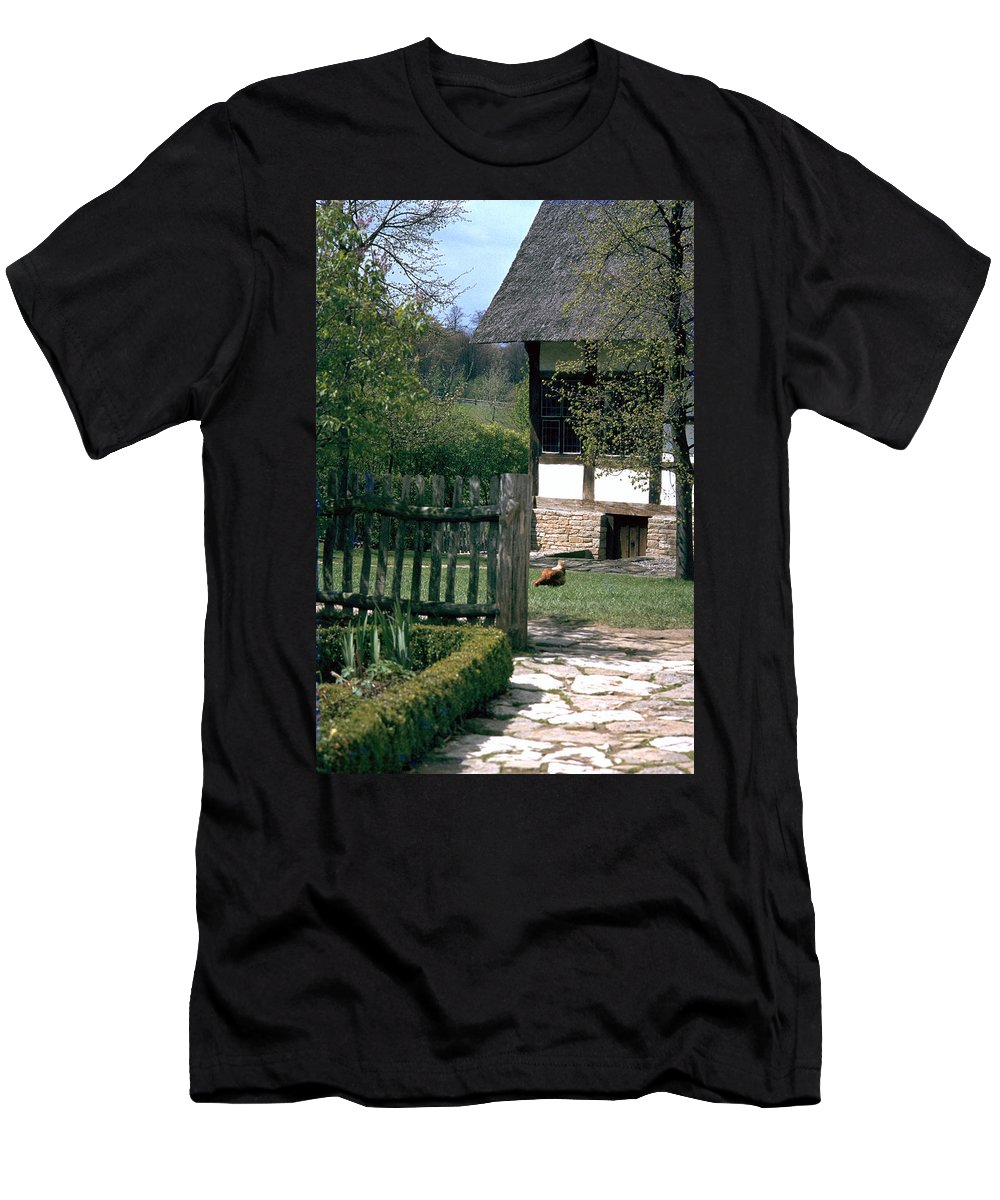 German Men's T-Shirt (Athletic Fit) featuring the photograph Farm by Flavia Westerwelle