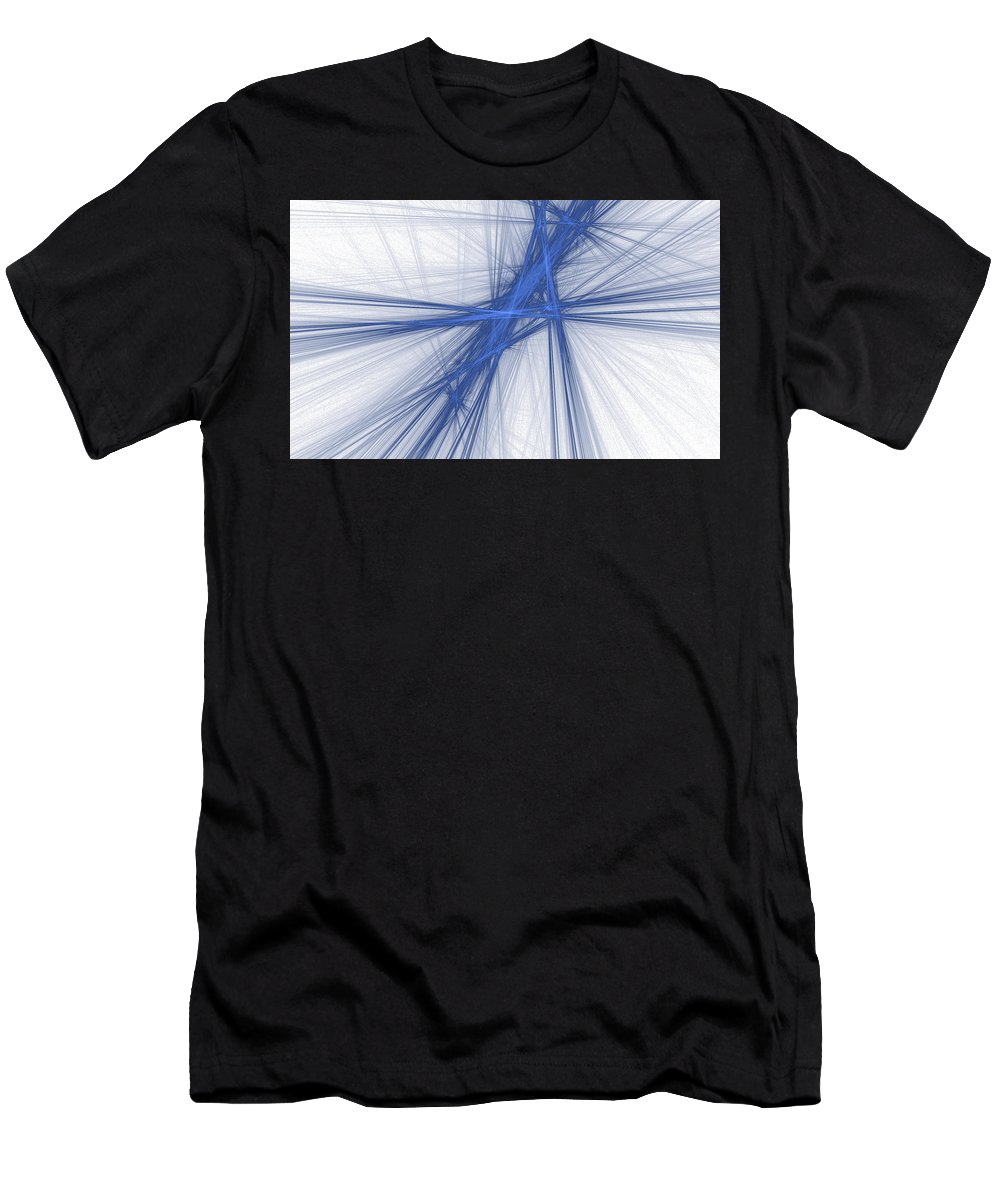 Abstract Men's T-Shirt (Athletic Fit) featuring the digital art Fate by Emilio Pacheco