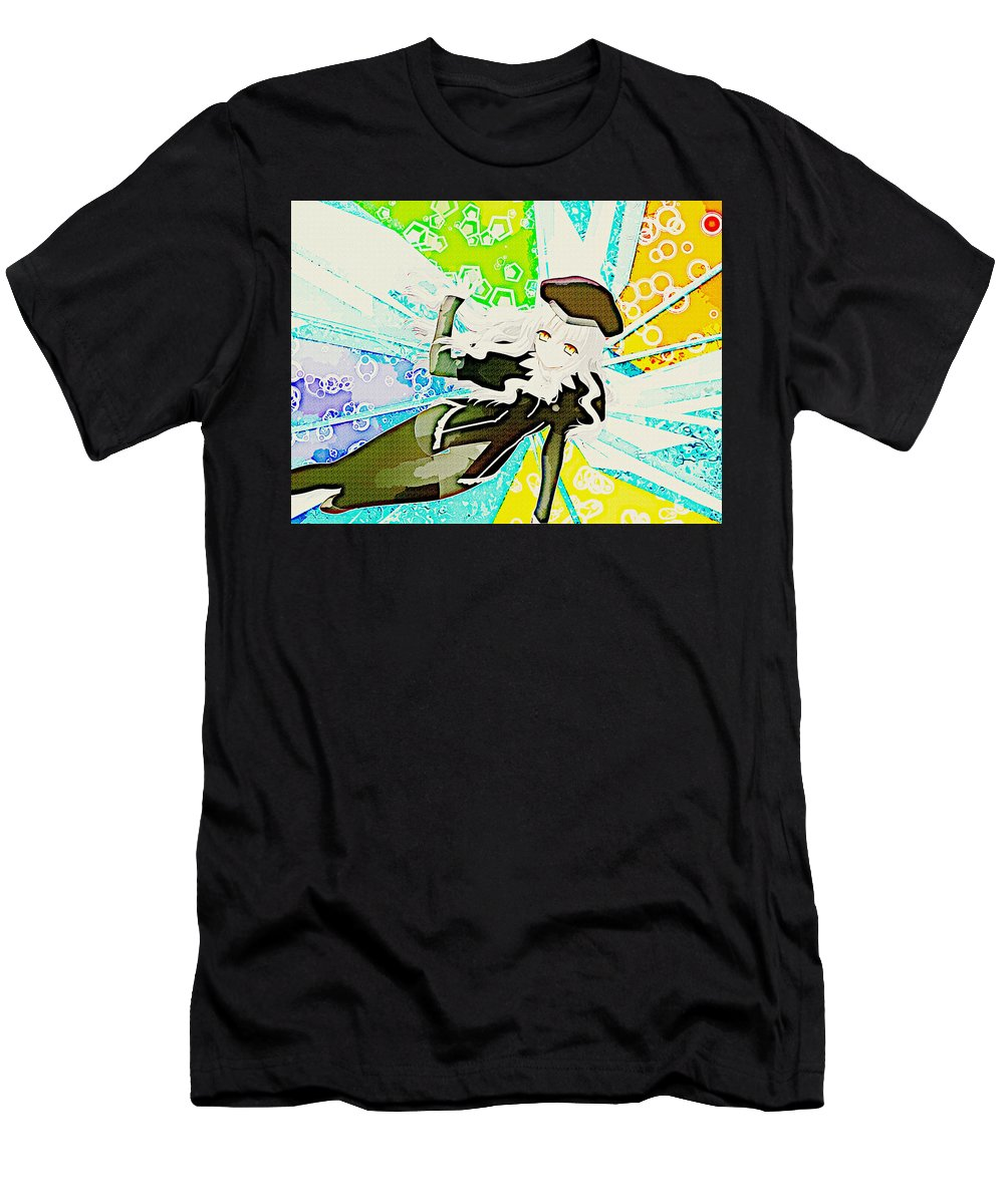 Fate/hollow Ataraxia Men's T-Shirt (Athletic Fit) featuring the digital art Fate/hollow Ataraxia by Lora Battle