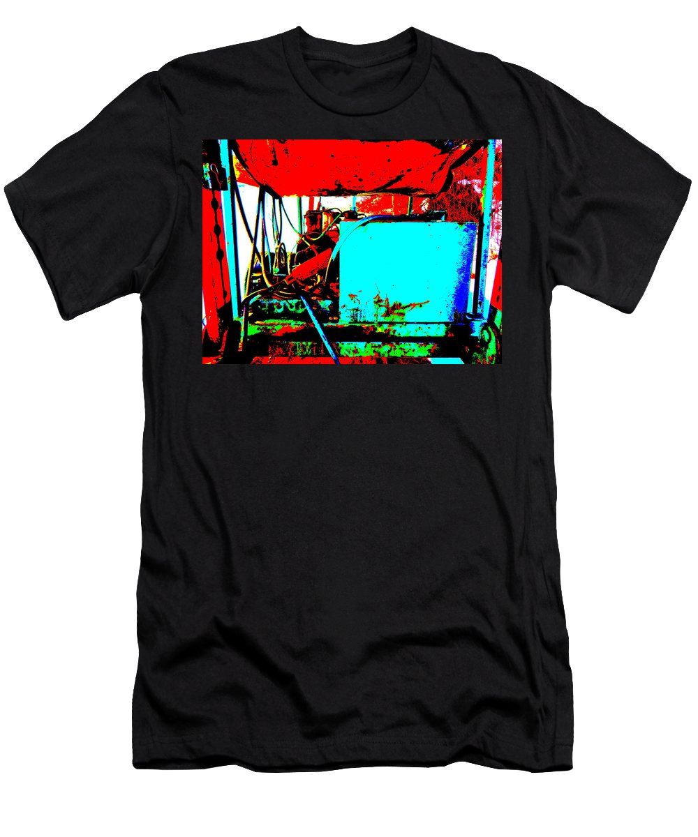 Abstract Men's T-Shirt (Athletic Fit) featuring the photograph Feb 2016 19 by George Ramos