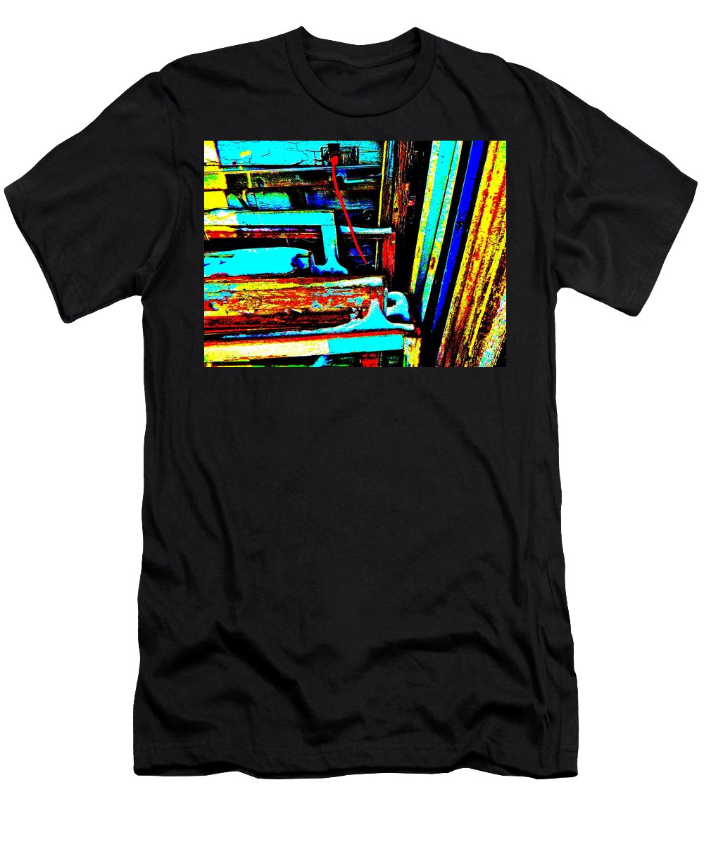 Abstract Men's T-Shirt (Athletic Fit) featuring the photograph Feb 2016 68 by George Ramos