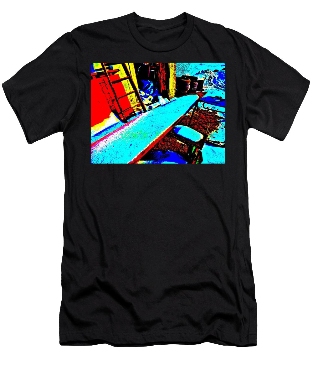 Abstract Men's T-Shirt (Athletic Fit) featuring the photograph Feb 2016 73 by George Ramos