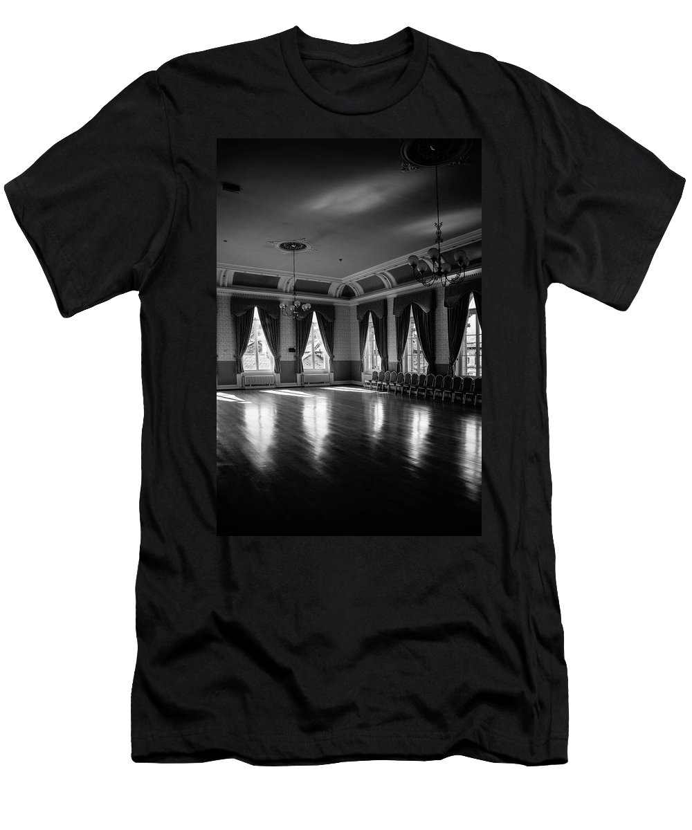 Saltaire Men's T-Shirt (Athletic Fit) featuring the photograph Feel The Lives by Jez C Self