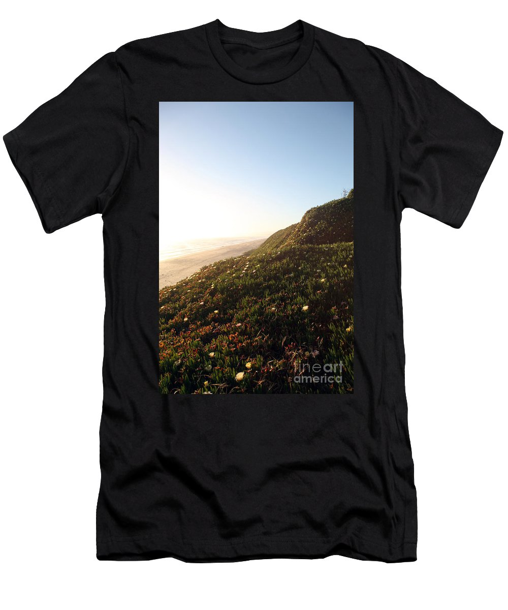 california Coast Men's T-Shirt (Athletic Fit) featuring the photograph Feels Like Home by Amanda Barcon
