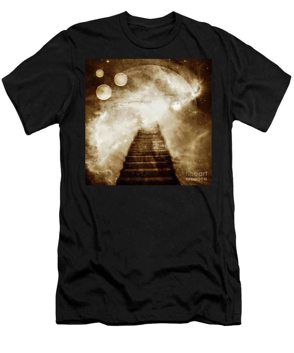 Fantasy Men's T-Shirt (Athletic Fit) featuring the photograph Final Destination by Jacky Gerritsen