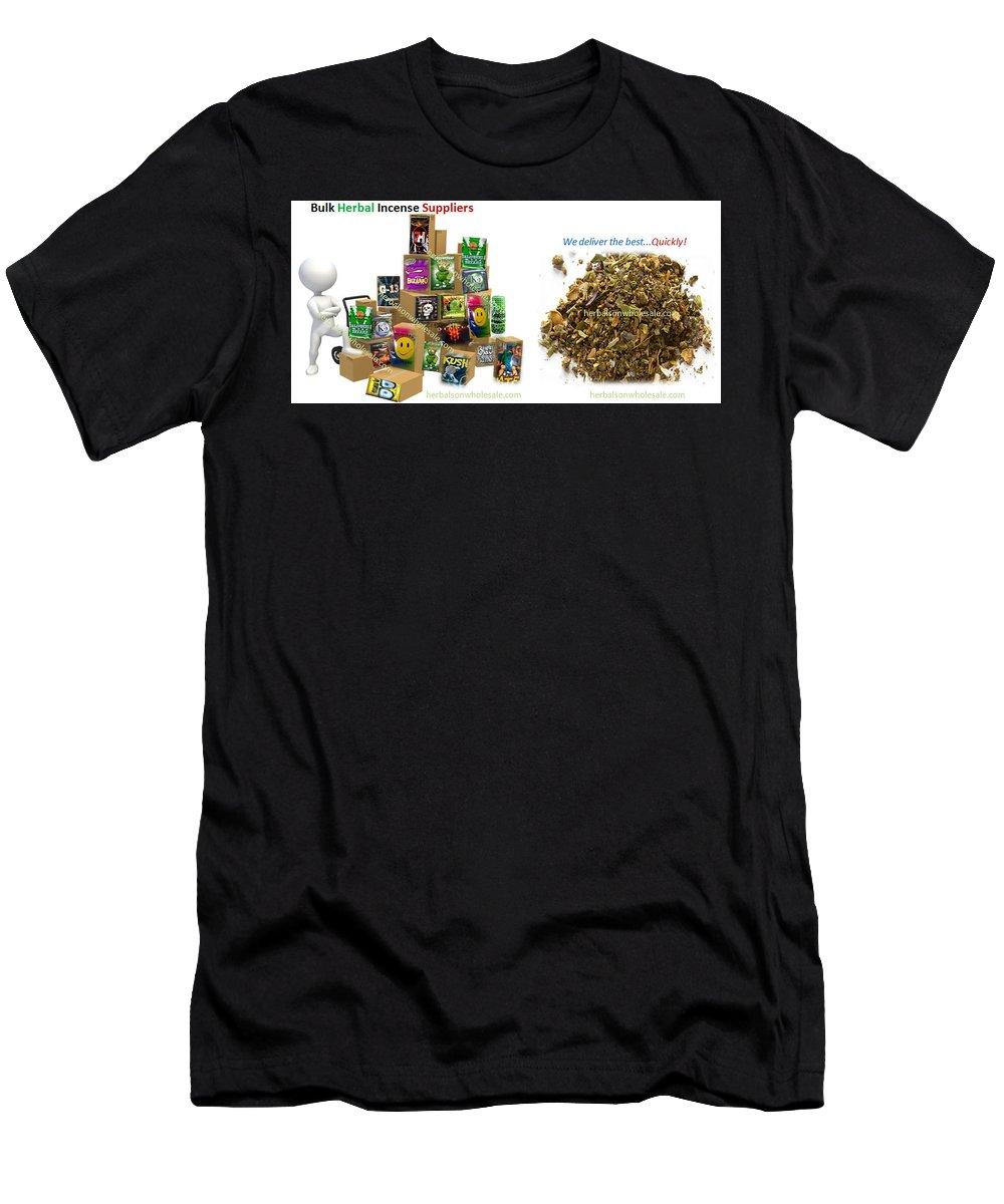 Bulk Herbal Incense Suppliers Men's T-Shirt (Athletic Fit) featuring the digital art Find Bulk Herbal Incense Suppliers by Tim Smith