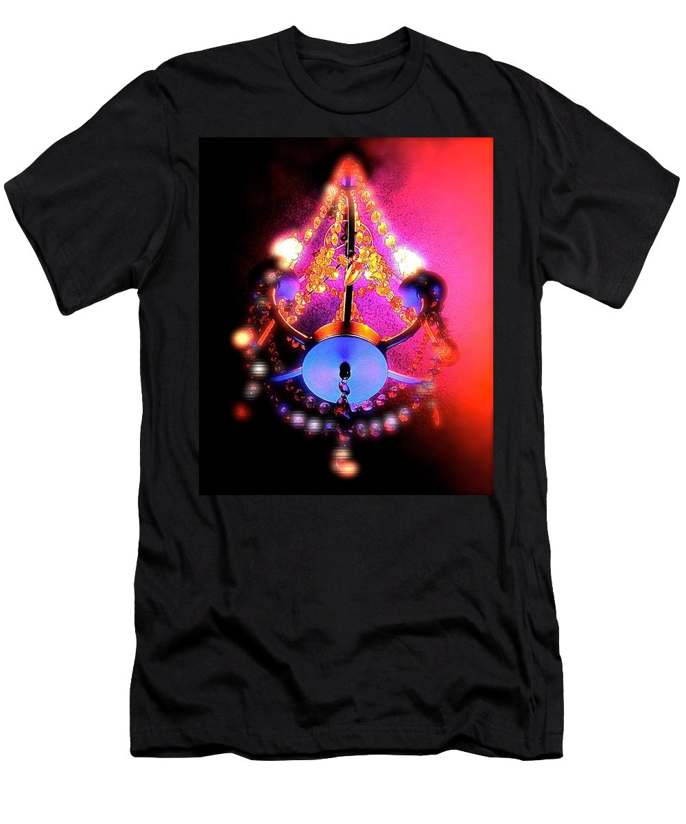 Men's T-Shirt (Athletic Fit) featuring the photograph Flashblamp by Jennifer Ann Henry