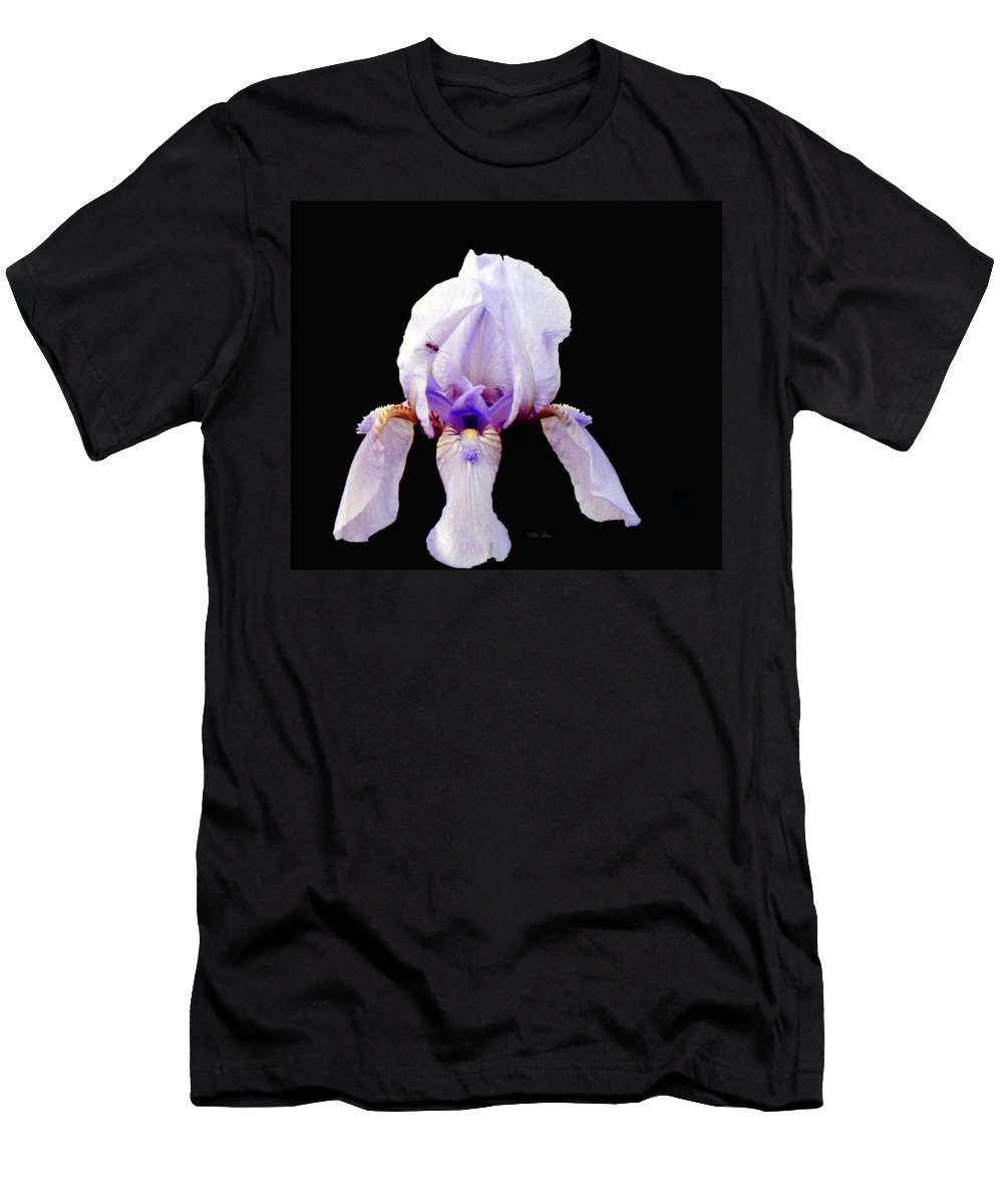 Spring Men's T-Shirt (Athletic Fit) featuring the photograph Fleur De Lis by Wild Thing