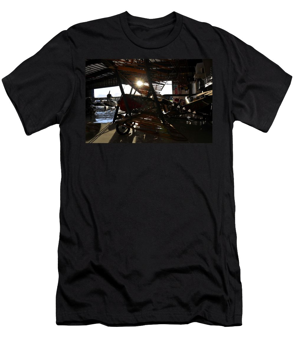 Hanger Men's T-Shirt (Athletic Fit) featuring the photograph Flights Of Fancy by David Lee Thompson