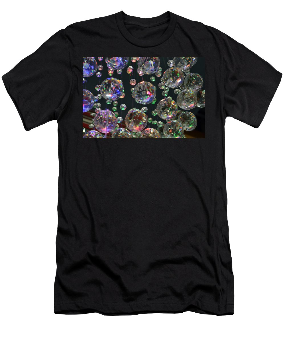 Crystal Men's T-Shirt (Athletic Fit) featuring the photograph Floating In Air by Marla McPherson