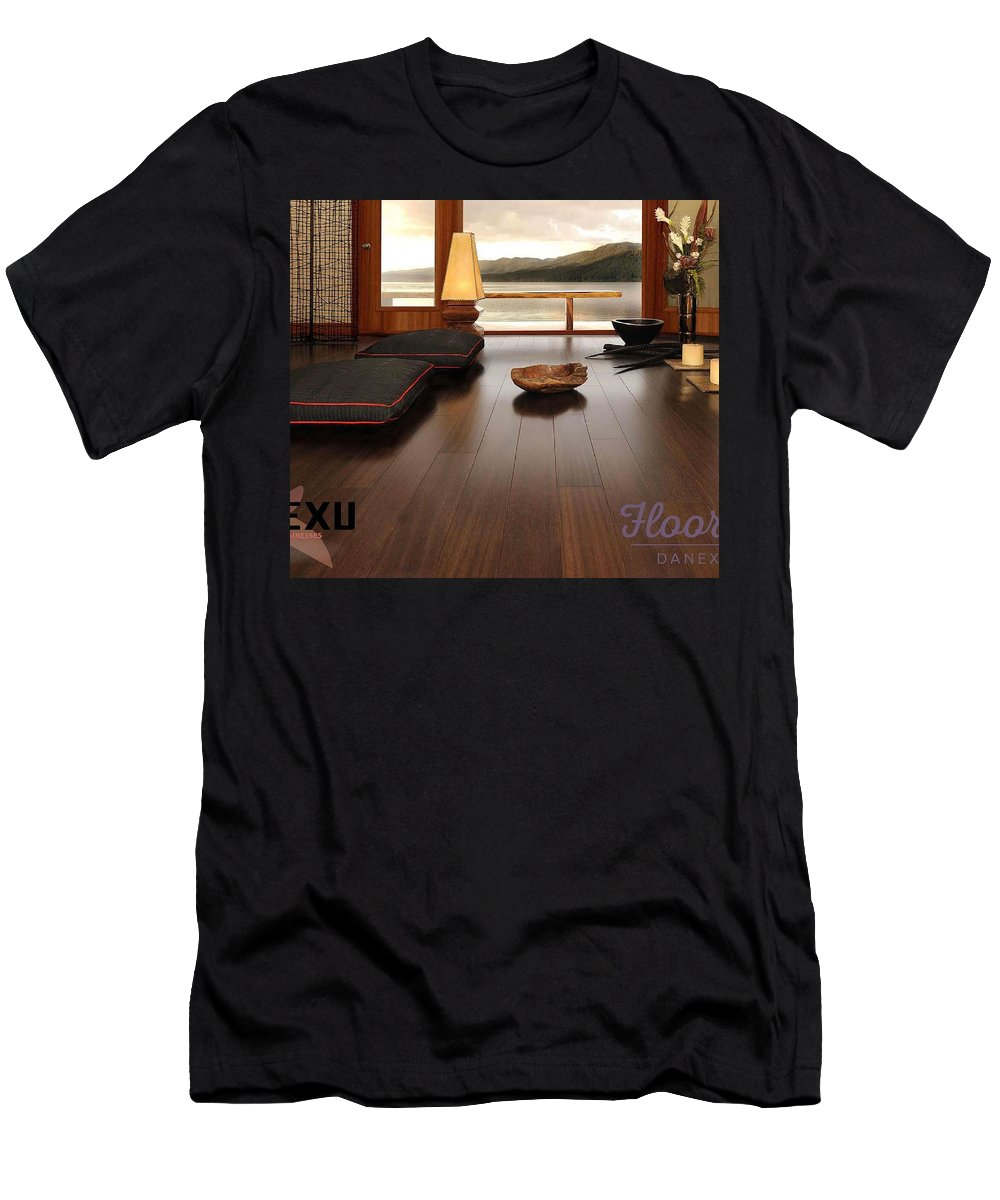 Men's T-Shirt (Athletic Fit) featuring the photograph Flooring Dealers by Danexu