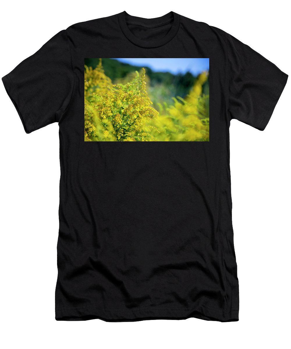 Plants Men's T-Shirt (Athletic Fit) featuring the photograph Floral by David Stasiak