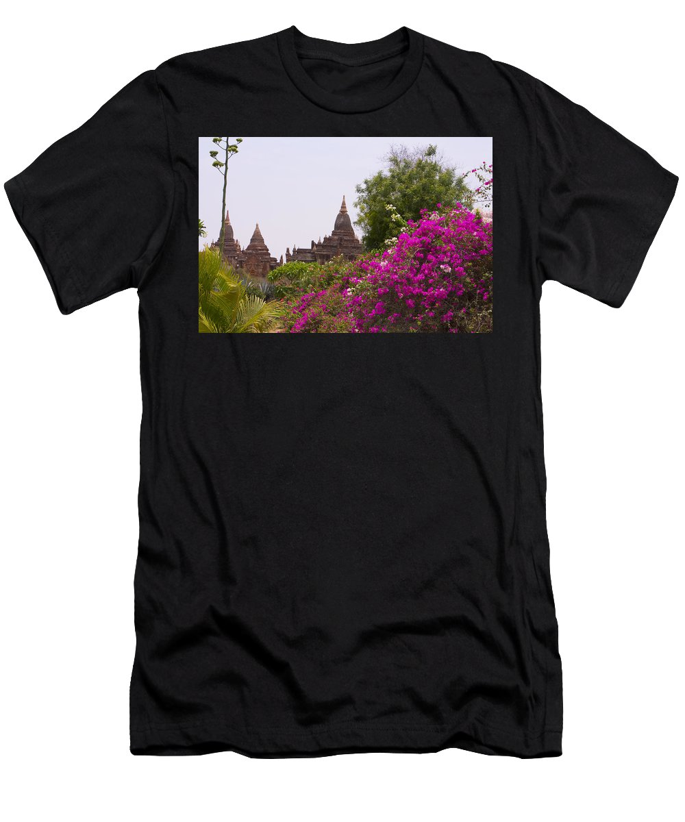 Flourish By Valerie Trot Men's T-Shirt (Athletic Fit) featuring the photograph Flourish by Valeria New
