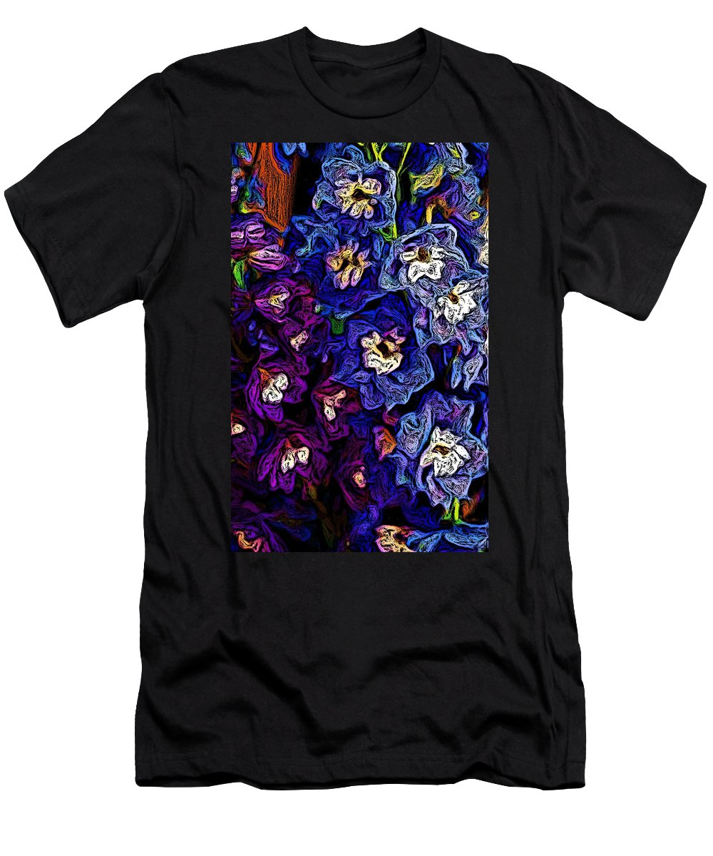 Digital Photo Men's T-Shirt (Athletic Fit) featuring the photograph Flower Arrangement II by David Lane