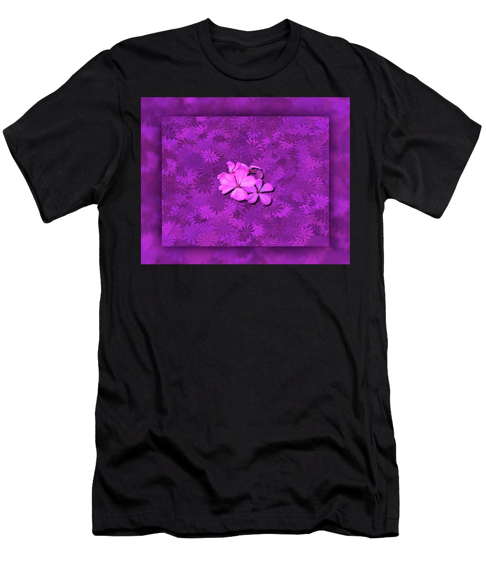 Flower Men's T-Shirt (Athletic Fit) featuring the photograph Flower Power by Leticia Latocki