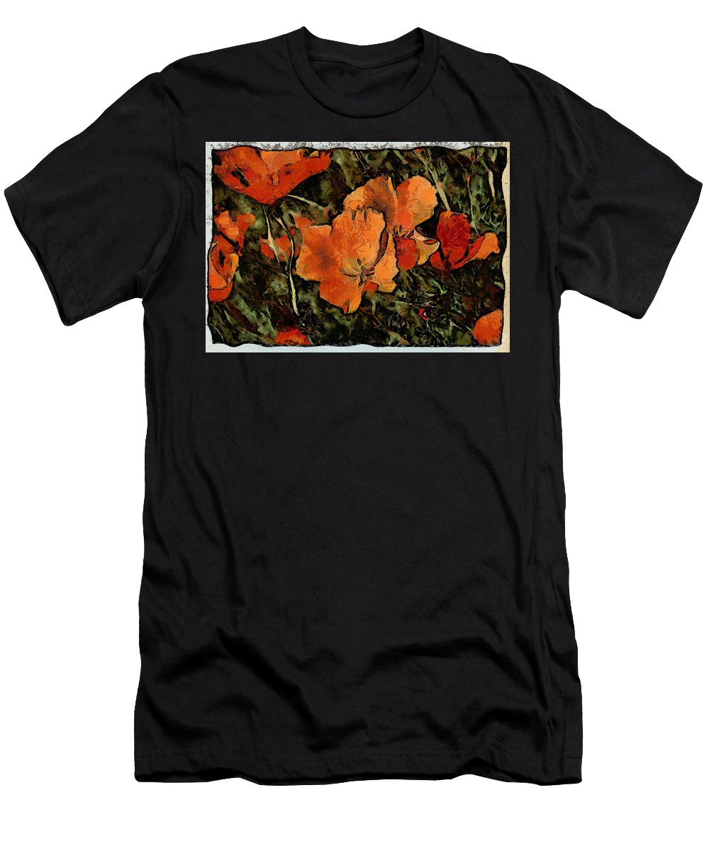 Flower Men's T-Shirt (Athletic Fit) featuring the photograph Flowers by Galeria Trompiz
