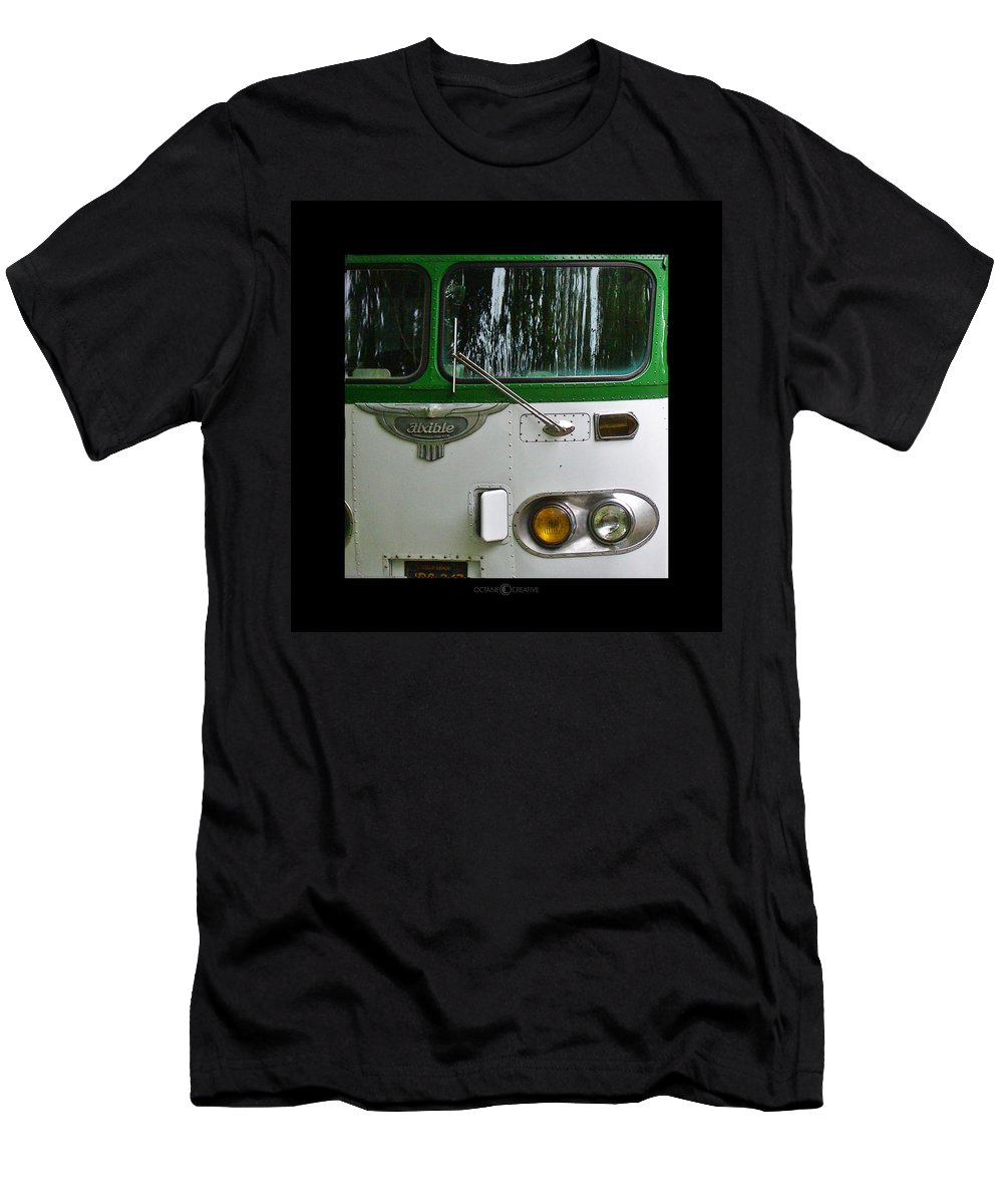 Flxible Men's T-Shirt (Athletic Fit) featuring the photograph Flxible by Tim Nyberg