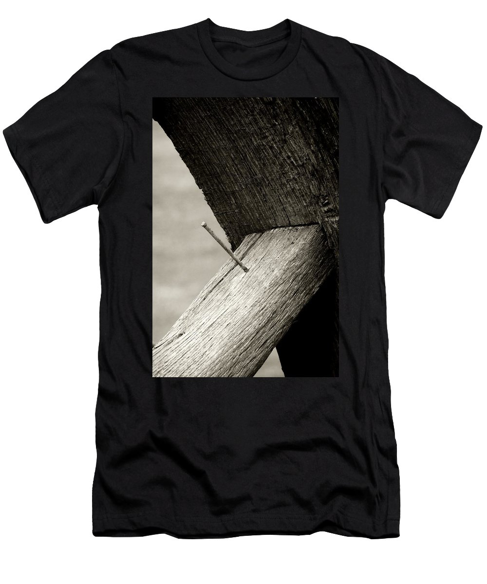 Men's T-Shirt (Athletic Fit) featuring the photograph For Want Of A Nail by RC DeWinter