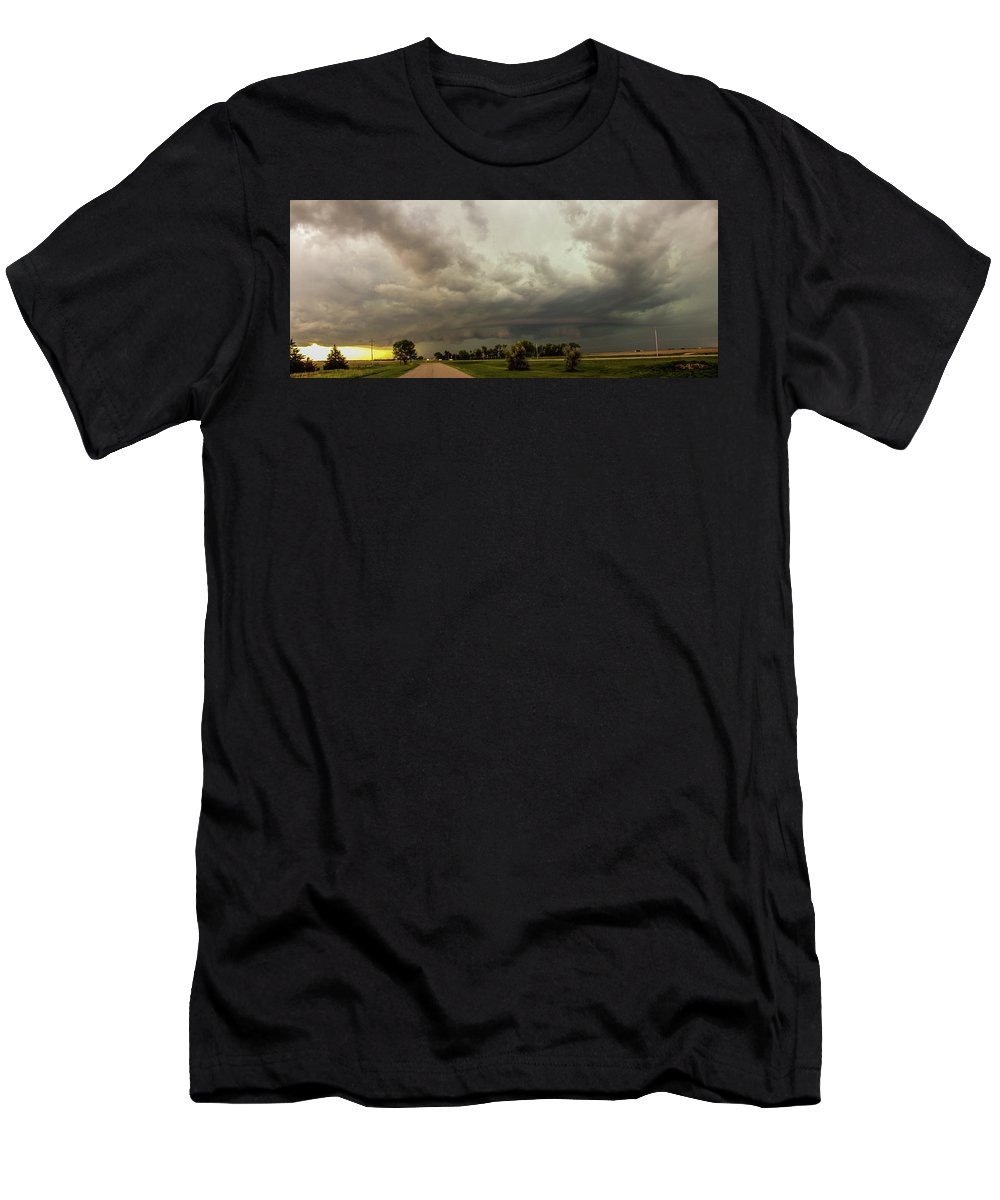 Nebraskasc Men's T-Shirt (Athletic Fit) featuring the photograph Forces Of Nebraska Nature 037 by NebraskaSC