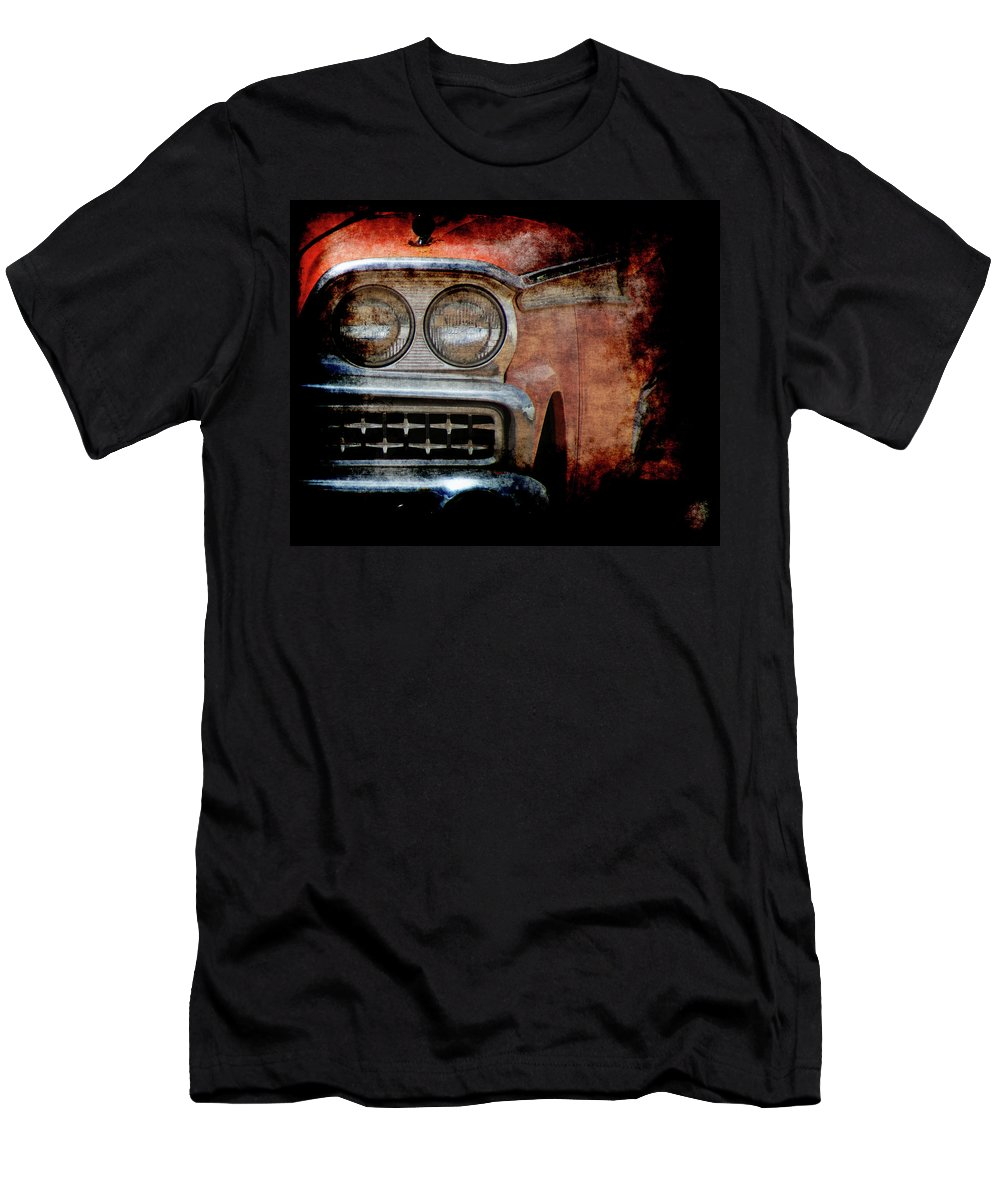 Fords Men's T-Shirt (Athletic Fit) featuring the photograph Ford by Ernie Echols