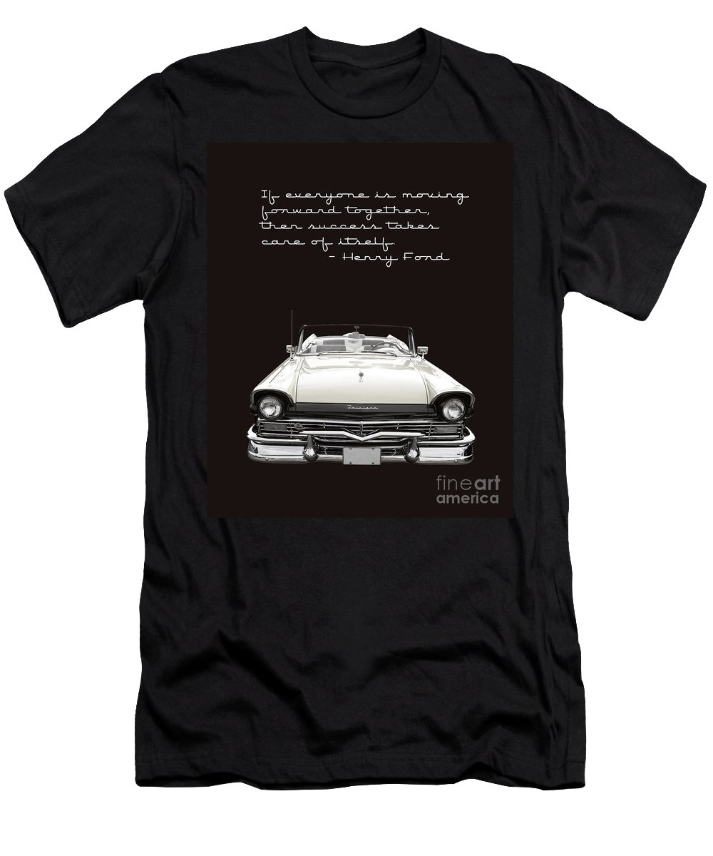 Ford Men's T-Shirt (Athletic Fit) featuring the photograph Ford Success Poster by Edward Fielding
