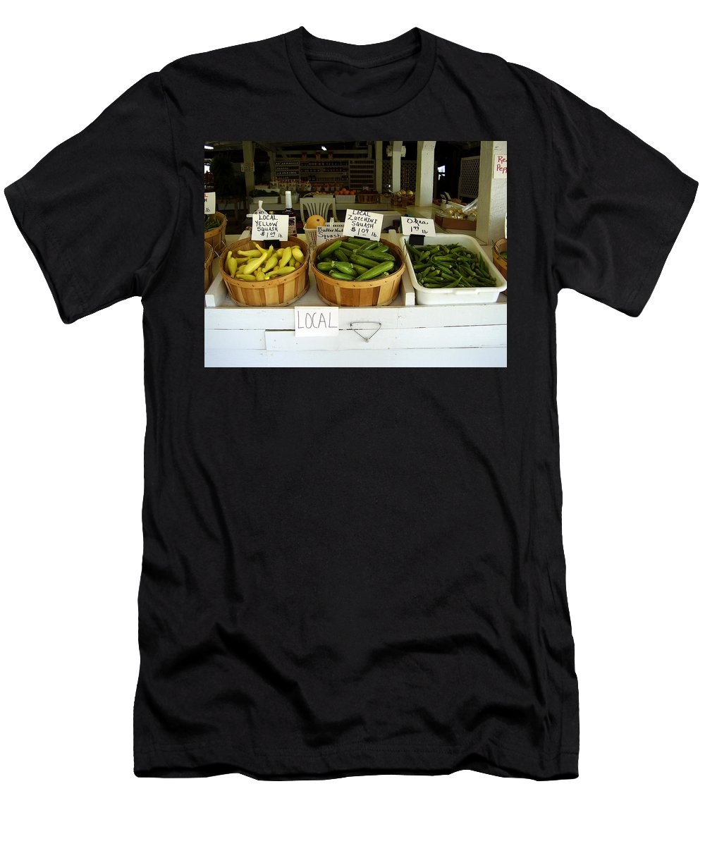 Fresh Produce Men's T-Shirt (Athletic Fit) featuring the photograph Fresh Produce by Flavia Westerwelle