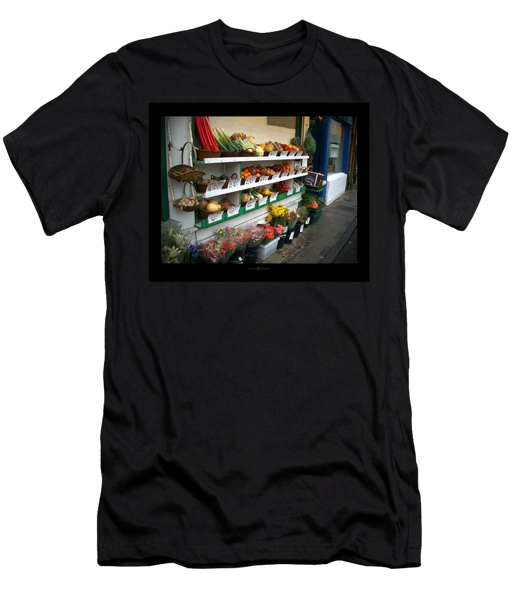 Shaftesbury Men's T-Shirt (Athletic Fit) featuring the photograph Fresh Produce by Tim Nyberg