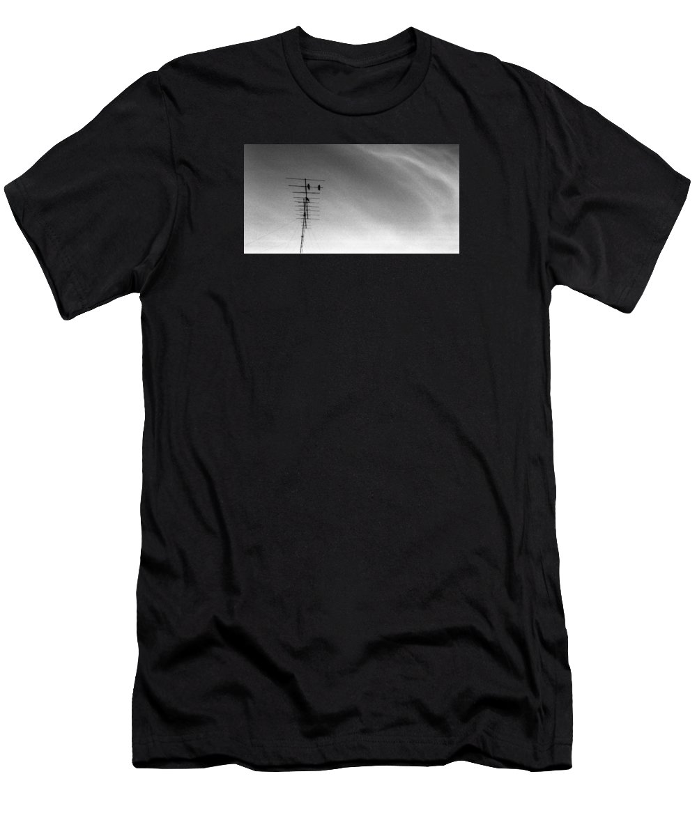 Abstract Men's T-Shirt (Athletic Fit) featuring the photograph From 1978 Three by Lyle Crump
