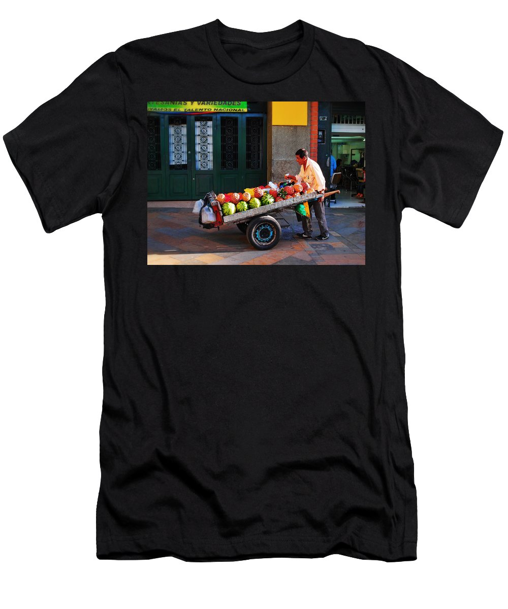 Fruta Limpia T-Shirt featuring the photograph Fruta Limpia by Skip Hunt
