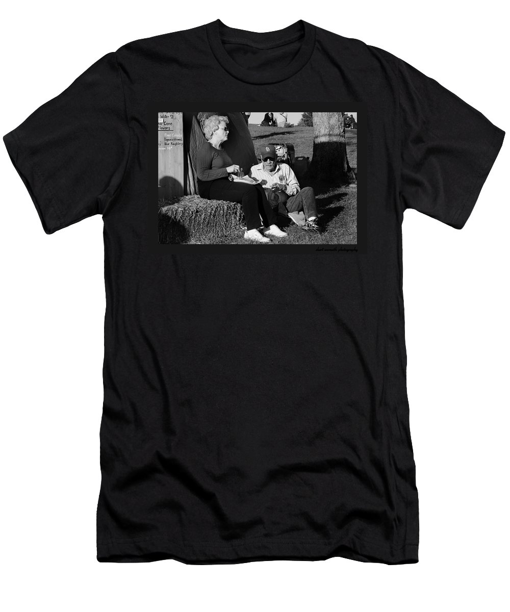 Fall Festival Men's T-Shirt (Athletic Fit) featuring the photograph Full Belly by Sheri Bartoszek
