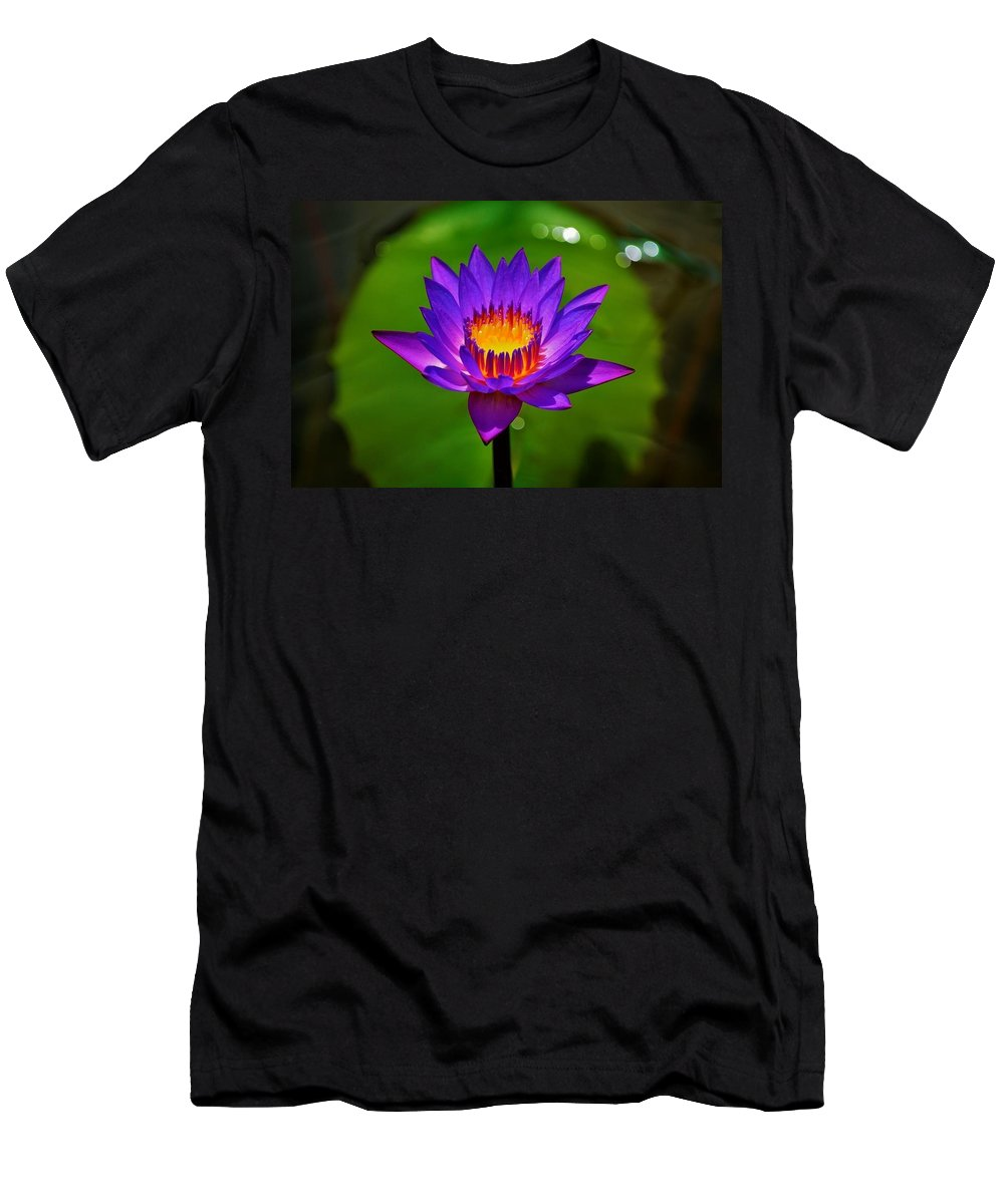 Flower Men's T-Shirt (Athletic Fit) featuring the photograph Full Blossom by Joseph Bruno Pelle