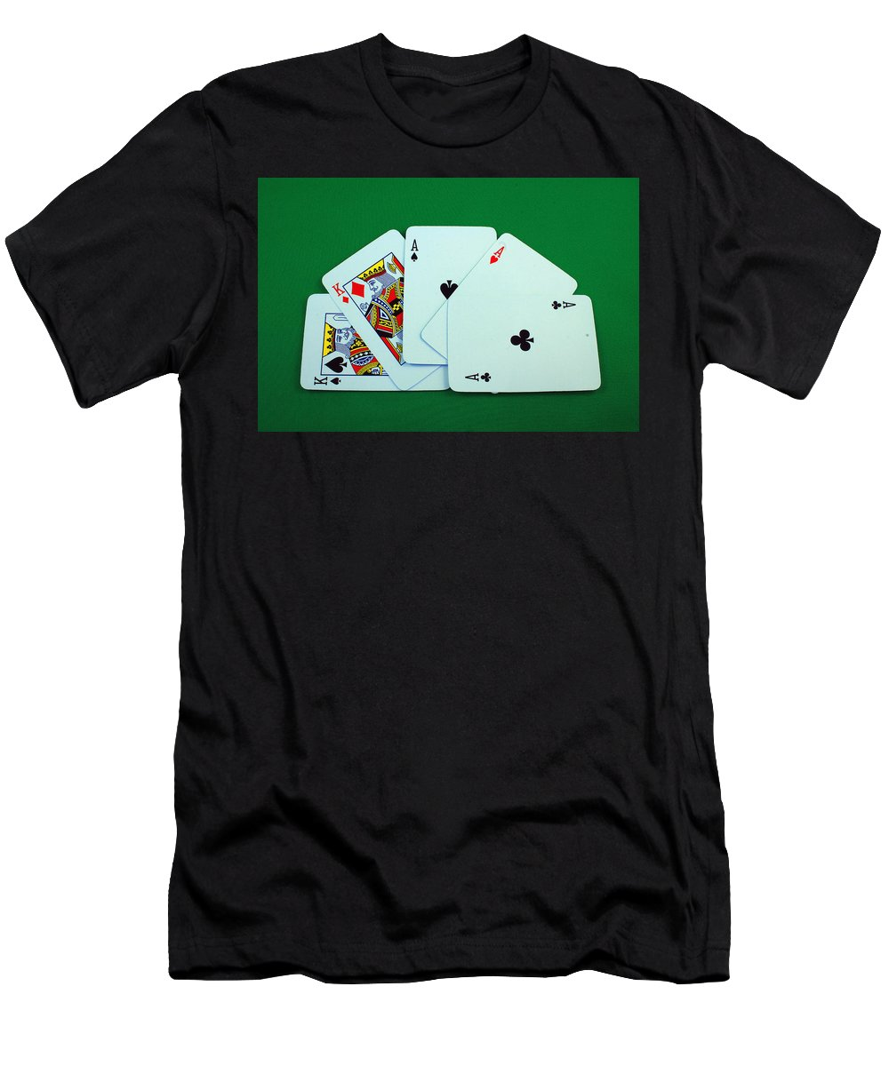 Full House Men's T-Shirt (Athletic Fit) featuring the photograph Full House by Robert Hamm
